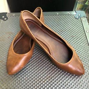 Frye Ballet Flats [Regina] Brown Leather Size 7.5